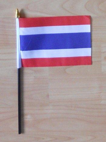 Thaïlande Pays Drapeau petites mains.