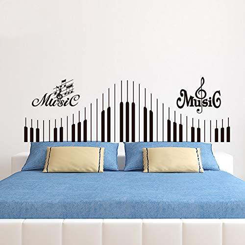 Klaviertastatur Aufkleber Hinweis Wandaufkleber Musik Rock Geige Jazz Schlafzimmer Nacht Sofa