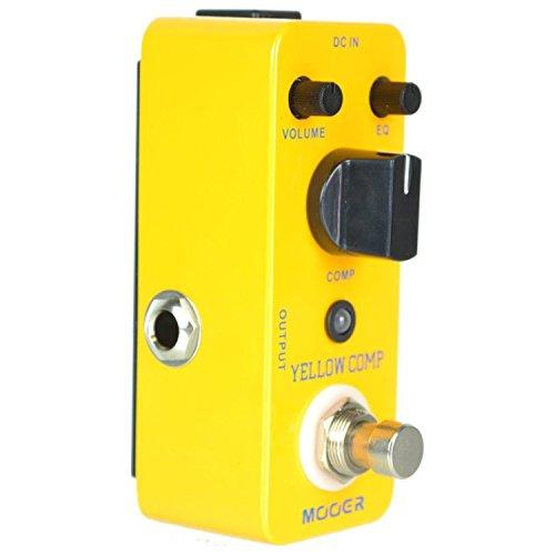 Mooer Yellow Comp - Compressor Pedal für E-Gitarre