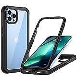 seacosmo Cover iPhone 13 Pro, 360 Gradi Rugged Custodia iPhone 13 Pro Antiurto Trasparente Case con...