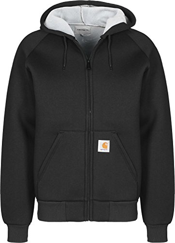 Carhartt Car-Lux Hooded Jacket Herren, Anorak, schwarz, Small EU