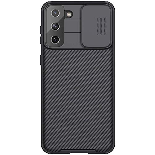 Nillkin Carcasa trasera para Samsung Galaxy S21 Plus, color negro