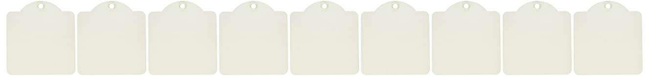 Graphic 45 Square Tags—Ivory,