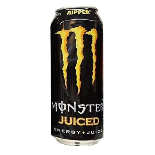 24 x Monster Energy Ripper Juiced EINWEG (24 x 0,5L Dosen) mit 20% Saft (Europa)