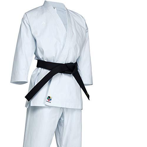 Adidas WKF Yawara Premium Karateanzug – 340 g – Japanischer Schnitt, 200 cm