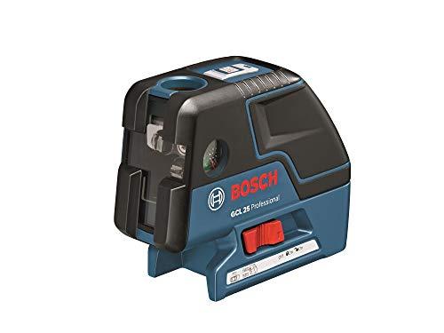Bosch Professional GCL 25, ± 4° Selbstnivellierbereich, IP 54 Staub- und Spritzwasserschutz, BT 150, Schutztasche, L-BOXX-Einlage, 4 x 1,5-V-LR6 (AA)