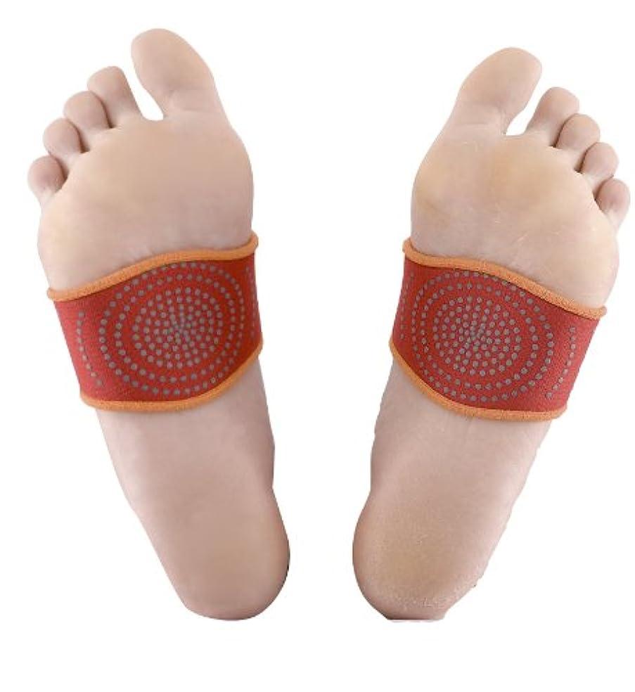 シーン入り口トロピカル桂式保温健康足先ベルト 左右2個組