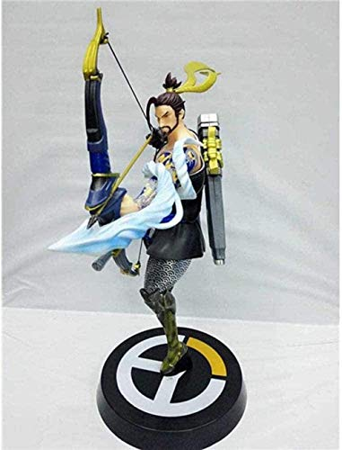 Brandless Overwatch Overwatch Master Archer Shimada Hanzo Archer Modelo 28cm