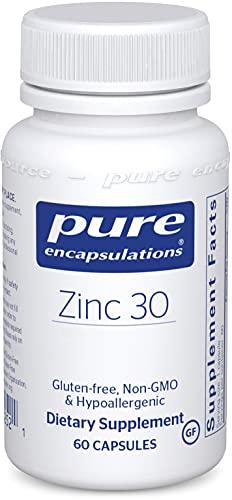 Pure Encapsulations Zinc 30 mg | Zinc Picolinate Supplement for Immune...