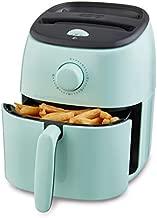 Dash Tasti Crisp Electric Air Fryer + Oven Cooker with Temperature Control, Non-stick Fry Basket, Recipe Guide + Auto Shut Off Feature, 1000-Watt, 2.6 Quart - Aqua