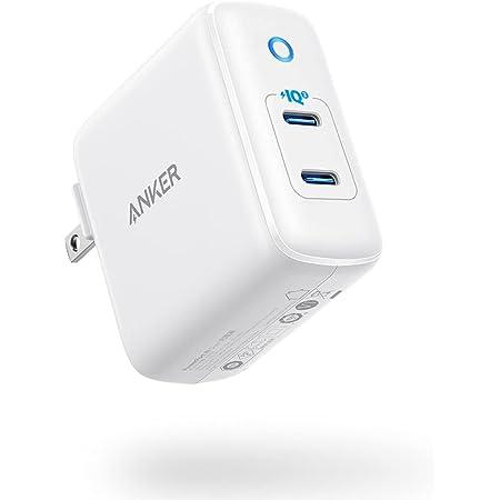【改善版】Anker PowerPort III Duo 20W (PD対応 40W 2ポート USB-C 急速充電器) 【PSE技術基準適合/折りたたみ式プラグ搭載/PowerIQ 3.0搭載 / USB Power Delivery対応/コンパクトサイズ】iPhone & Android対応(ホワイト)