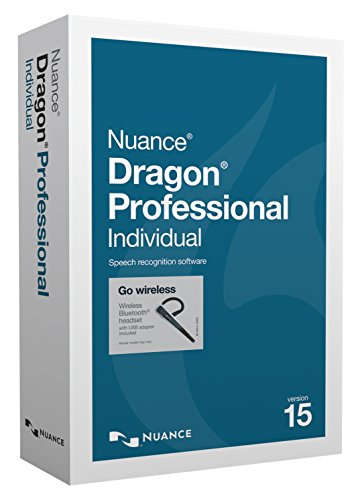 Nuance Dragon Professional Individual Version 15 Wireless Software