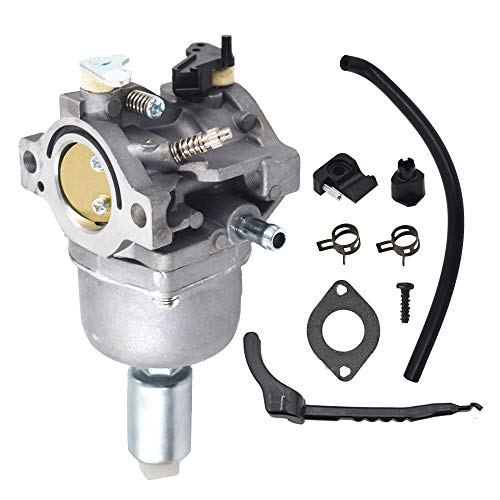 """Carburetor Carb Kit Fits for 42""""Troy Bilt Pony riding mower replacement for Briggs & Stratton 17.5 I/C OHV Engin Lawn Mower Tractor Tune-Up Kit"""