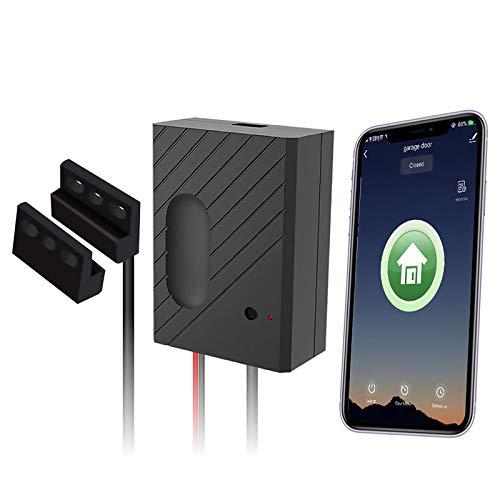 Newgoal Controlador remoto Google Home de apertura de puerta de garaje | WiFi. No se requiere concentrador