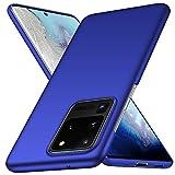 ORNARTO Hülle für Samsung S20 Ultra, Ultra Dünn Schlank Anti-Scratch FeinMatt Einfach Handyhülle Abdeckung Stoßstange Hardcase für Samsung Galaxy S20 Ultra(2020) 6,9 Zoll Blau