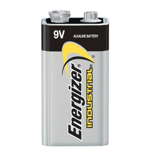 Energizer ENE EN22 9 Volt Industrial Alkaline Battery (Pack of 12)