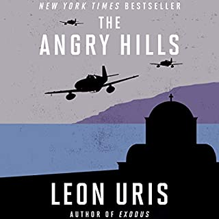 The Angry Hills audiobook cover art