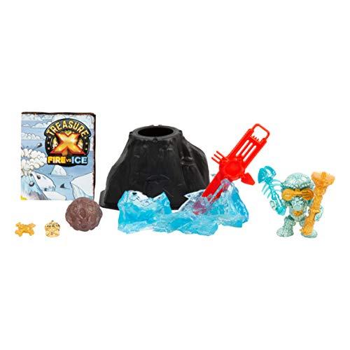 Treasure X - Dino Hunter Pack Fire VS Ice, Set Figuren für die Jagd von Thessoros, Mädchen bis 5 Jahre (FAMOSA 700015740)