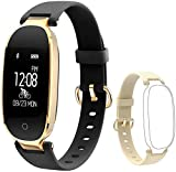 Flenco Fitness Tracker Heart Rate Monitor Touch Screen Health Tracker Activity Tracker Waterproof
