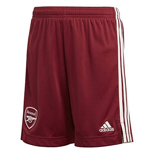 adidas Kinder Arsenal FC Away Short 2020/21, Noble Maroon/Cloud White, 140