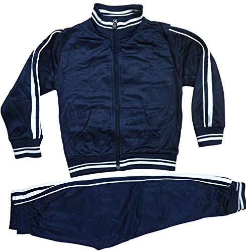 Generic Kinder Jungen Mädchen Trainingsanzug Jogginganzug Sportanzug Jacke Hose (110/116)