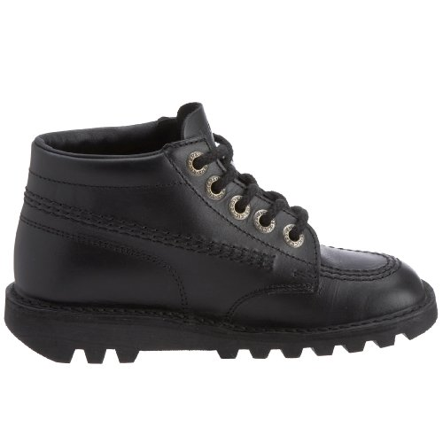 Kickers Unisex's Kick Hi Core Ankle Boots, Black, 5 UK (38 EU)