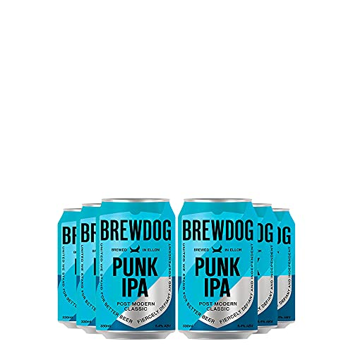 Kit de Cervejas Brewdog Punk IPA com 06 Unidades