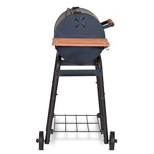 Char-Griller E1515 Patio Pro Charcoal Grill, Black