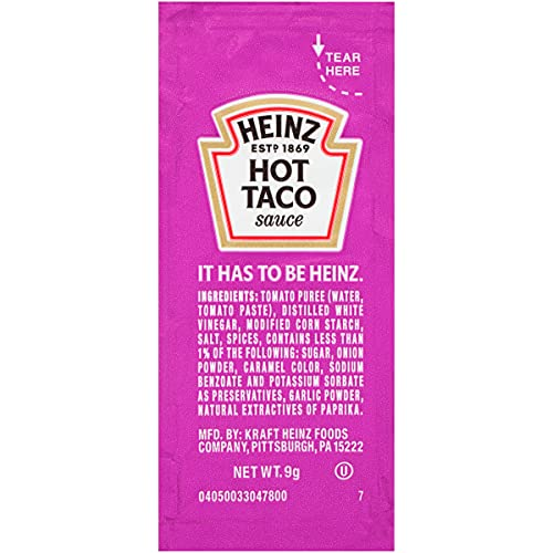 Heinz Single Serve Taco Sauce (500 ct Casepack)