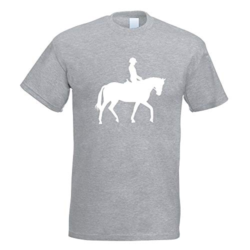 Kiwistar - Pferdesport Springreiten T-Shirt in 15 Herren Funshirt Bedruckt Design Sprüche Spruch Motive Oberteil Baumwolle Print Größe S M L XL XXL