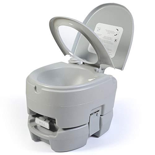 Yunjie 12L Inodoro Portátil Químico Cámping WC Extraíble Quimico Vater con Tapa...