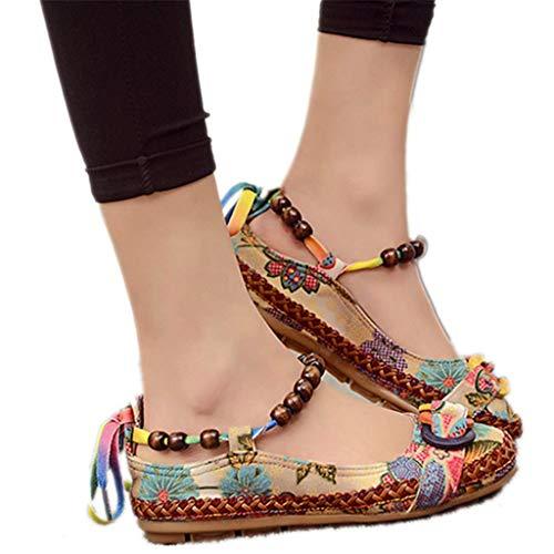 Haoricu Clearance Flat Shoes,Retro …