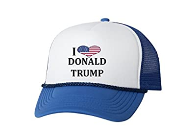 Rogue River Tactical Love Donald Trump Baseball Cap Retro Vintage Novelty MAGA Trucker Funny Hat