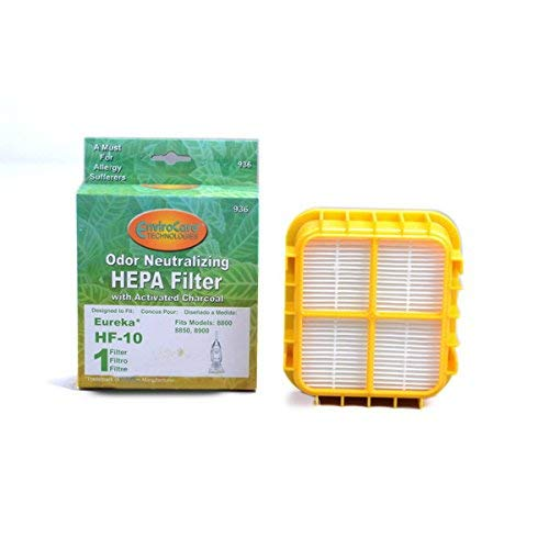 TVP Replacement for Eureka Senitaire Bagless Capture Upright Vacuum Cleaner HF-10 Hepa Filter # 936