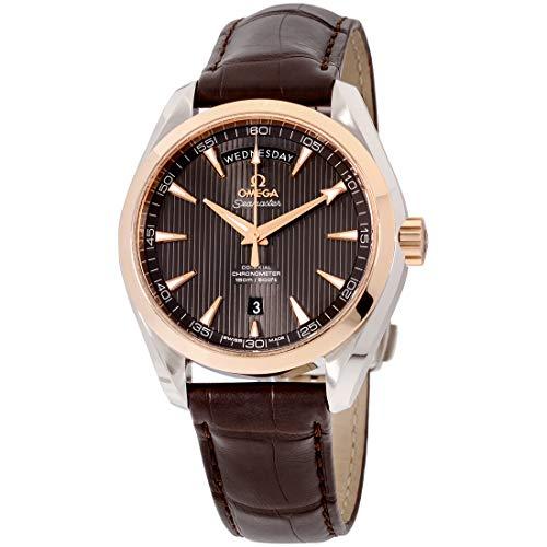 Omega Seamaster Aqua Terra movimento automatico quadrante grigio orologio da uomo 231.23.42.22.06.001
