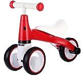 BEKILOLE Baby Balance Bike Ride on Trike Baby Walker 12-24 meses Juguetes para niños de 1 año de edad, niños y niñas, primera bicicleta