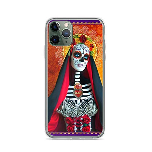 Phone Case Santa Muerte Compatible with iPhone 6 6s 7 8 X XS XR 11 Pro Max SE 2020 Samsung Galaxy Waterproof Funny