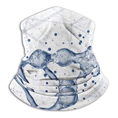 DNA Molecules Unisex Mikrofaser Halswärmer Kopfbedeckung Gesichtsschal Maske für Winter Kaltes Wetter Maske Bandana Sturmhaube