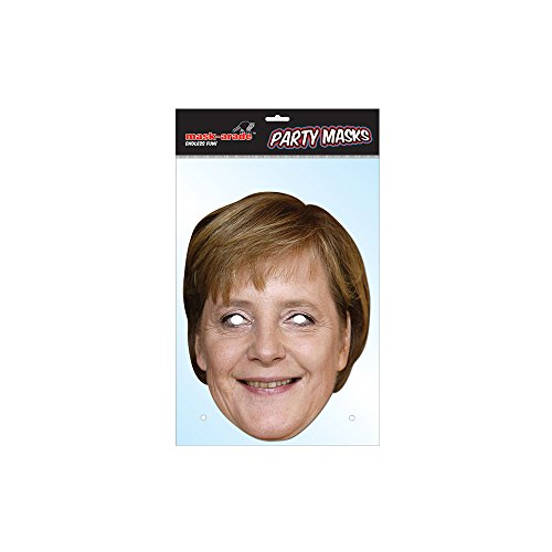 Unbekannt Générique MA1241 Angela Merkel Maske, Kartonpapier, Einheitsgröße