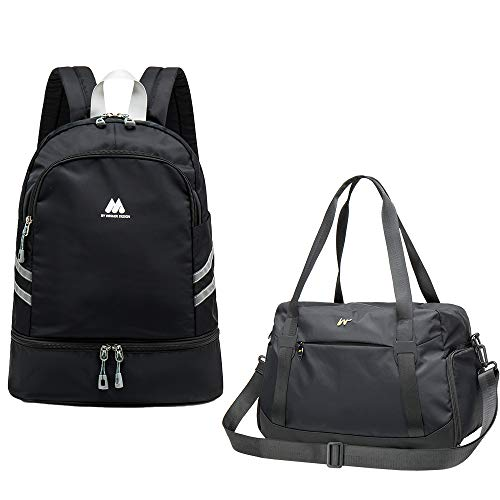 Gym Backpack for Men Women Waterproof Sport Bags Travel Bag with Shoes Compartment
