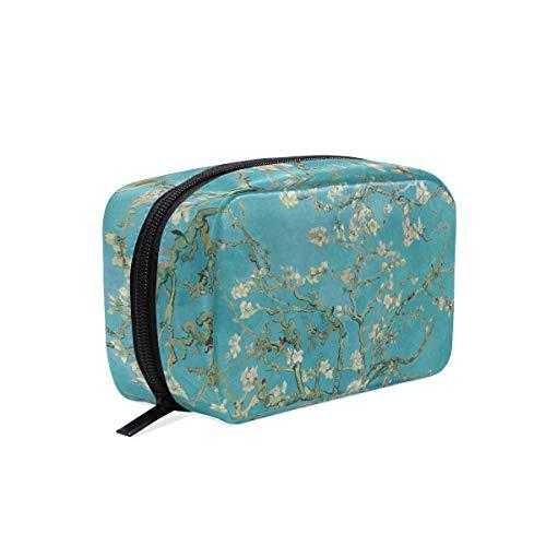 Van Gogh Trousse de maquillage portable Motif branches d'amandier en fleur