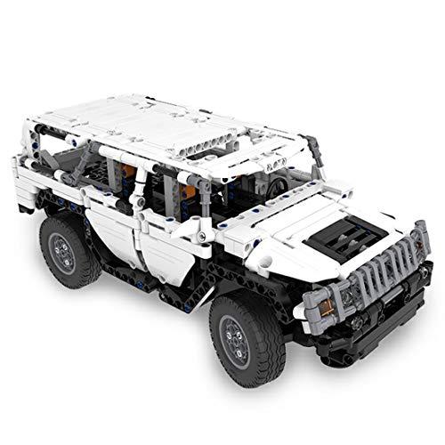 BOXX CADA Technik Auto für Hummer H2, 575 Teile Technik Ferngesteuertes Auto Custom Bausteine SUV-Modell 4X4 Offroader Kompatibel mit Lego Technic