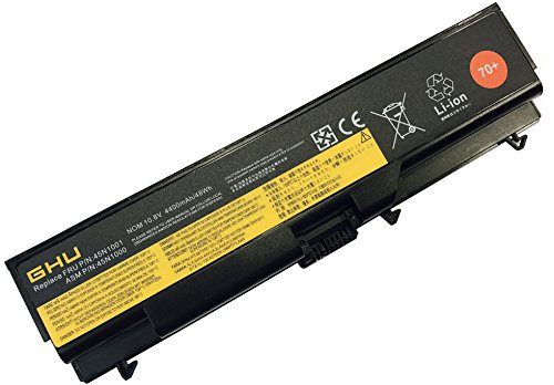 New GHU Battery 70+ 48 WH 0A36302 0A36303 45N1001 Compatible with Lenovo Thinkpad T410 T420 T430 T510 W530 W510 W520 L410 L420 L430 42T4751 42T4733 42T4235 42T4731 42T4757 42T4737 42T4753 42T4791