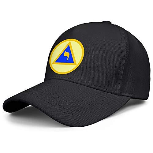 QILI Structure of The Council Men Women Funny Baseball Hat Twill Cap Adjustable Snapback Black