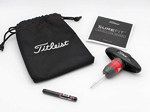 Titleist 917 SureFit CG Adjustment Tool w/Pouch, Manual, 12g SureFit Weight