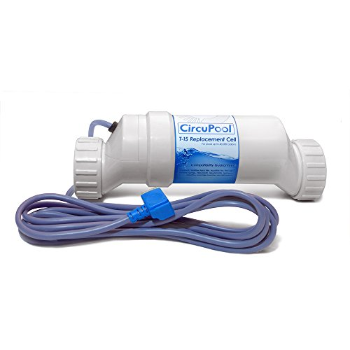 Circupool CIR-T15 Replacement Titanium Salt Cell Compatible with Hayward - Aqua Rite Turbo T-Cell (T15)