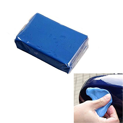 OUYIA Clay Bar 3x100g for Auto Detailing with Premium Microfiber Washing Towel 3Clay+1Towel Magic Claybar Paint Cleaner for Car Polishing Kits