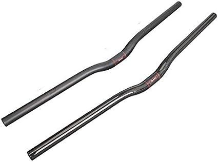 Carbon MTB Fibre Riser Handlebar 25,4mm 580-700mm Bicycle