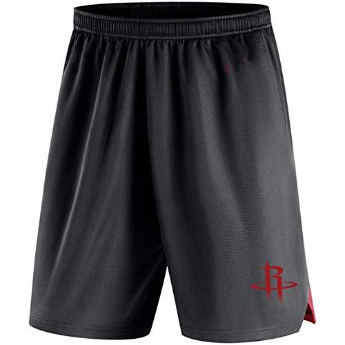 AIALTS NBA Uomini di Pallacanestro Pantaloncini, Gioventù Ragazzo Lakers/Warriors/Raptors/Brooklyn Nets Uomo Casual Beach Pants Uniforme di Basket di Formazione,G,XXXL