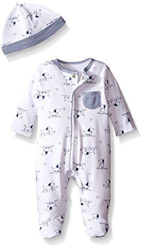 Little Me Baby Toile Footie with Hat, Puppy, New Born